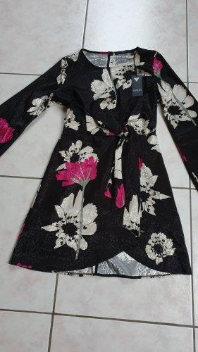Guess Sukienka tunika czarny