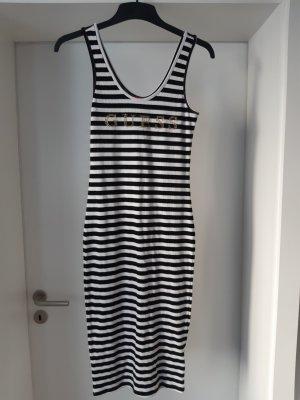 Guess Letnia sukienka biały-czarny
