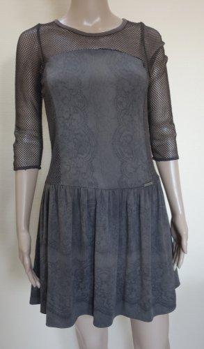 Guess Sukienka mini brązowy-ciemnobrązowy
