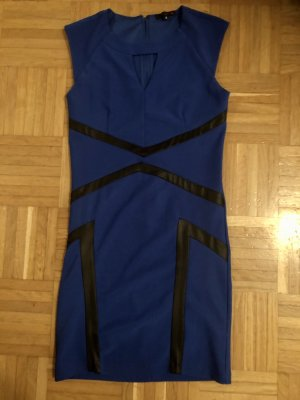 Guess Kleid Nacht blau Stretch