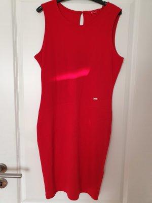Guess Kleid neu rot Jerseykleid silber
