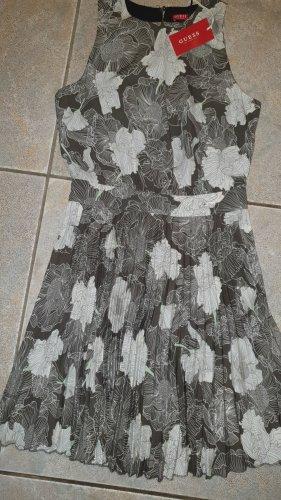 Guess Kleid Plissee Floral Gr. XS