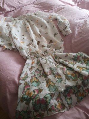 guess Kleid Schmetterling