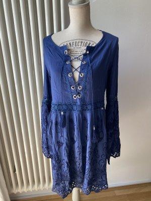 Guess Kleid Tunika Stickerei Gr. M