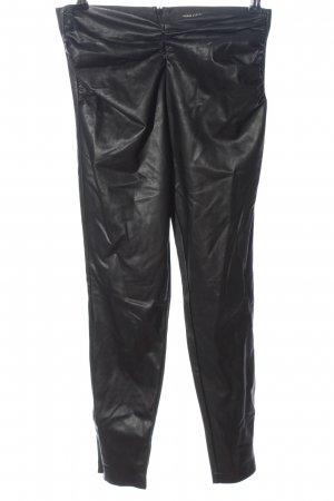 Guess Faux Leather Trousers black casual look