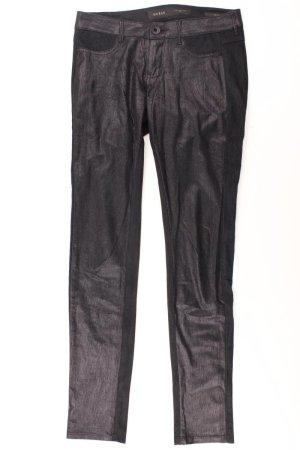 Guess Pantalón de efecto piel negro Poliéster
