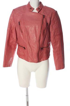 Guess Kurtka z imitacji skóry różowy W stylu casual