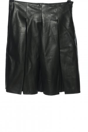 Guess Faux Leather Skirt black casual look