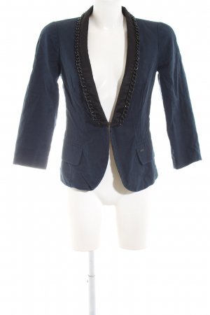 Guess Kurz-Blazer blau-schwarz Party-Look