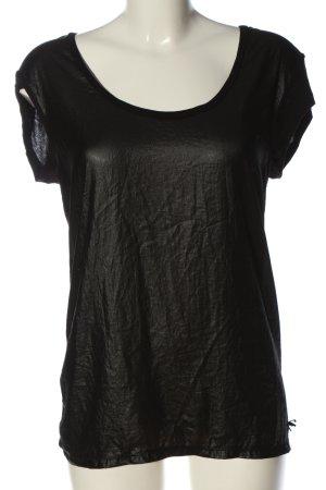 Guess Blusenshirt schwarz Casual-Look