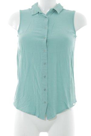 Guess Kurzarm-Bluse mint schlichter Stil