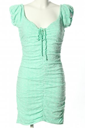 Guess Shortsleeve Dress green-white allover print casual look