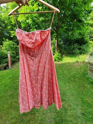 GUESS lachsrosa ärmelloses Kleid