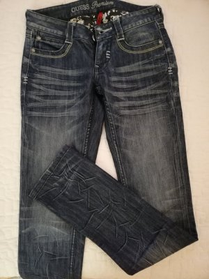 Guess Jeans Straight Leg Jeans steel blue-petrol