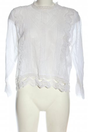 Guess Blusa de manga larga blanco estilo «business»
