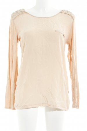 Guess Langarm-Bluse apricot Casual-Look