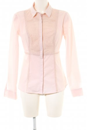 Guess Langarm-Bluse pink Business-Look