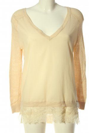 Guess Langarm-Bluse creme Casual-Look