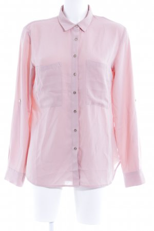 Guess Langarm-Bluse lachs Business-Look