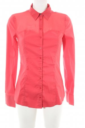 Guess Langarm-Bluse rot Casual-Look