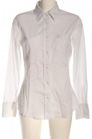 Guess Camisa de manga larga blanco puro estilo «business»