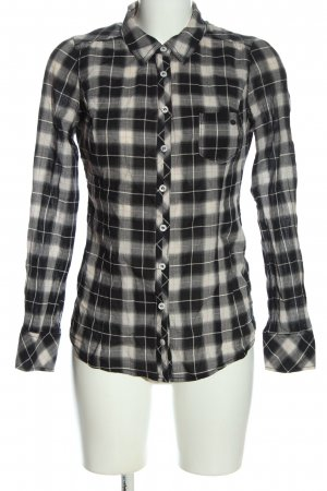 Guess Langarmhemd Allover-Druck Casual-Look