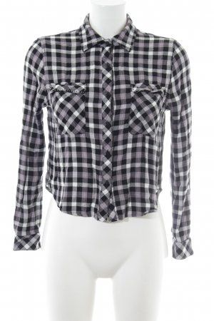 Guess Camisa de manga larga estampado a cuadros look casual