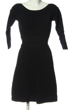 Guess Robe à manches longues noir style décontracté