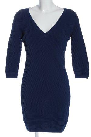 Guess Sukienka z długim rękawem niebieski W stylu casual