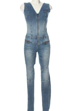 Guess Langer Jumpsuit azul look casual