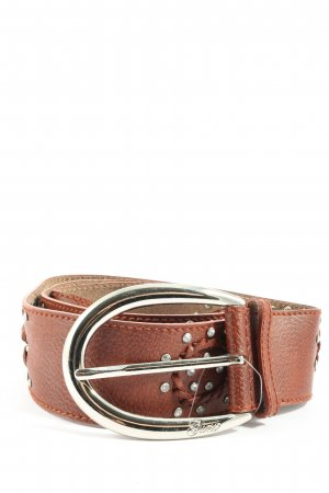 Guess Faux Leather Belt brown casual look