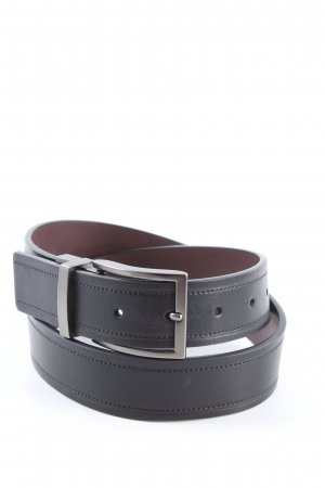 Guess Faux Leather Belt black business style