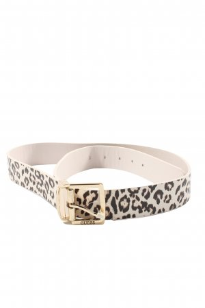 Guess Faux Leather Belt allover print casual look