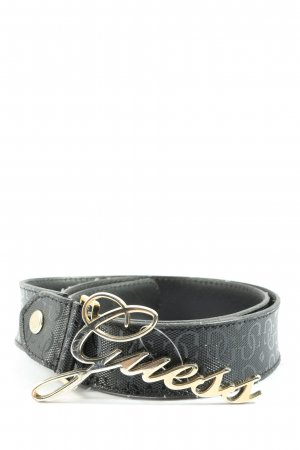 Guess Cintura in ecopelle nero stile casual