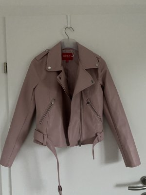 Guess Giacca in pelle rosa antico