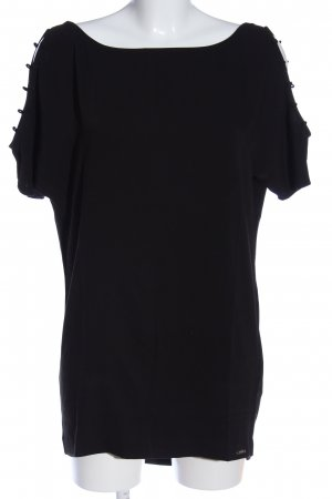 Guess Long-Bluse schwarz Casual-Look