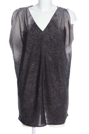 Guess Long Blouse black-light grey color gradient casual look