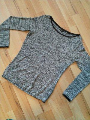 Guess Manica lunga grigio chiaro-grigio