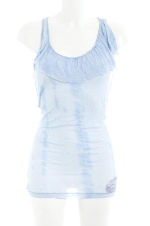 Guess Longtop kornblumenblau Farbverlauf Casual-Look
