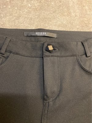 GUESS Los Angeles Pantalón de tubo negro-color plata