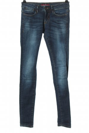 GUESS Los Angeles Low Rise jeans blauw casual uitstraling