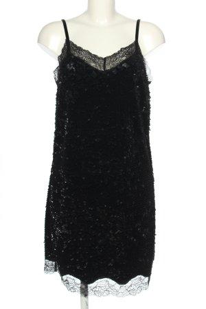 GUESS Los Angeles Vestido de lentejuelas negro elegante