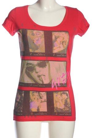 GUESS Los Angeles Print-Shirt Motivdruck Casual-Look