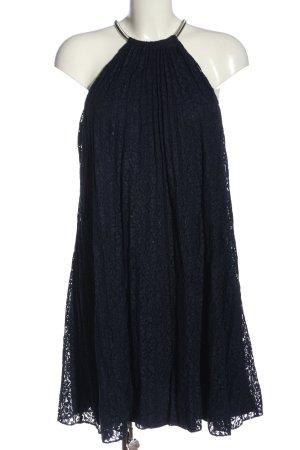 GUESS Los Angeles schulterfreies Kleid blau Elegant