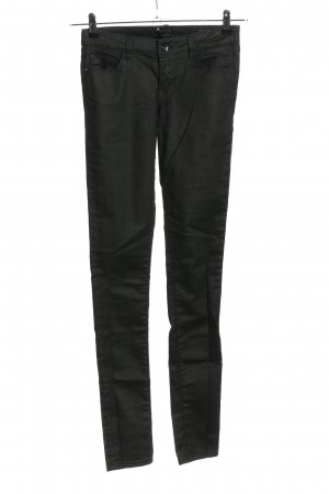 GUESS Los Angeles Stretch broek zwart casual uitstraling