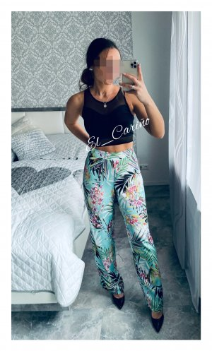 Guess Los Angeles Wide Leg Hose Stoffhose High-Waisted weites Bein locker Tropical - Gr. M (38/40)