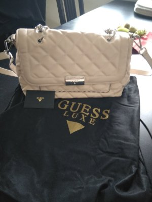 Guess Luxe Handtasche in Puder