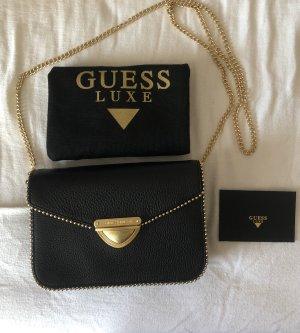 Guess Luxe Leder Abendtasche