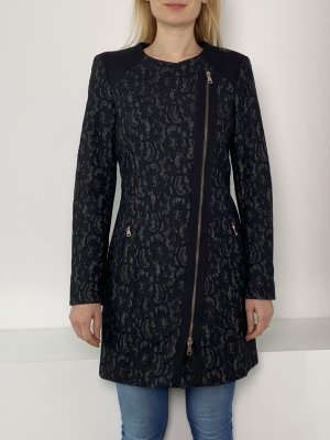 Guess by Marciano Between-Seasons-Coat black-anthracite viscose