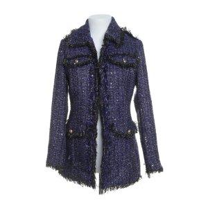 Guess Mantel dunkelblau taillier Elegant boucle tweed